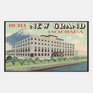 Sticker Rectangulaire Hotel New Grand Yokohama (Japan)