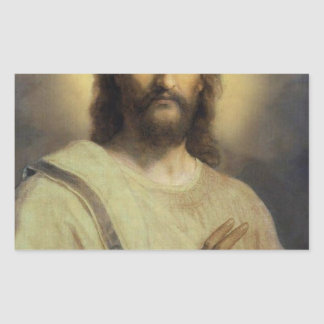 Sticker Rectangulaire Image du seigneur - Heinrich Hofmann