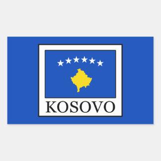 Sticker Rectangulaire Kosovo