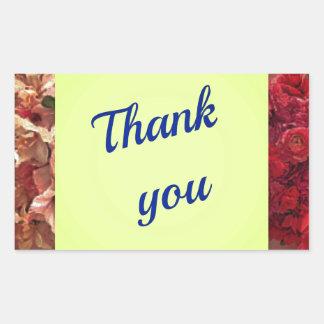 Sticker Rectangulaire La gratitude rend un homme meilleur