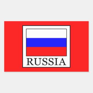 Sticker Rectangulaire La Russie