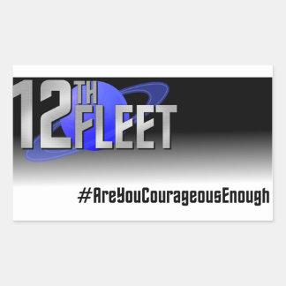 Sticker Rectangulaire La Science courageuse