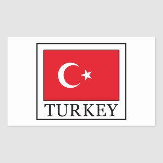 Sticker Rectangulaire La Turquie