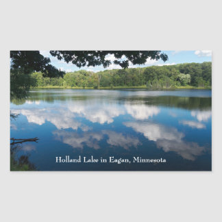 Sticker Rectangulaire Lac holland pittoresque dans Eagan