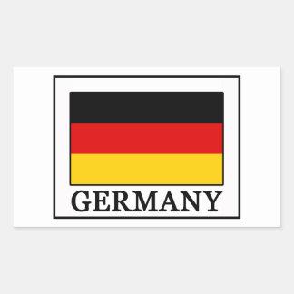 Sticker Rectangulaire L'Allemagne