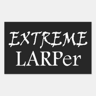 Sticker Rectangulaire Larper extrême