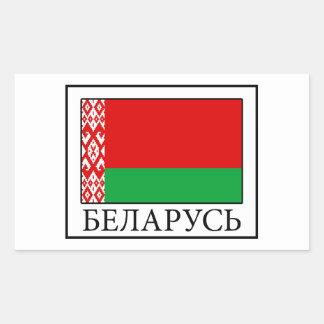 Sticker Rectangulaire Le Belarus