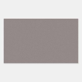 Sticker Rectangulaire Le blanc de modèle ajoutent votre gris élégant des