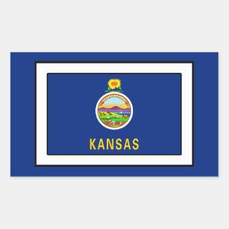 Sticker Rectangulaire Le Kansas