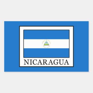Sticker Rectangulaire Le Nicaragua