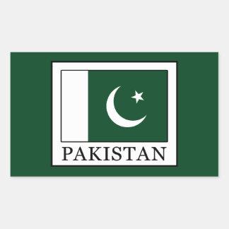 Sticker Rectangulaire Le Pakistan