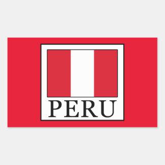 Sticker Rectangulaire Le Pérou