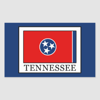 Sticker Rectangulaire Le Tennessee