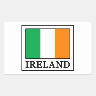Sticker Rectangulaire L'Irlande
