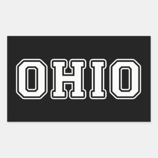 Sticker Rectangulaire L'Ohio