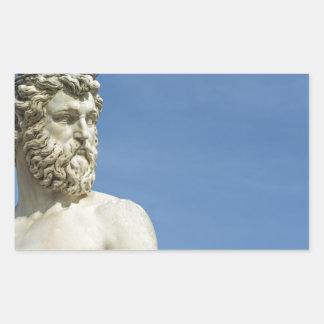 Sticker Rectangulaire Neptune dans Florence02