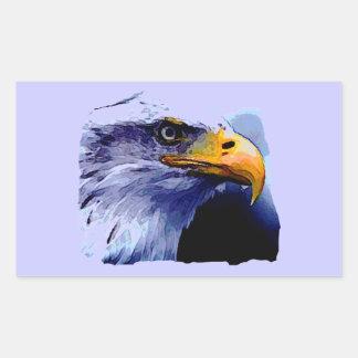 Sticker Rectangulaire Oeil d'Eagle