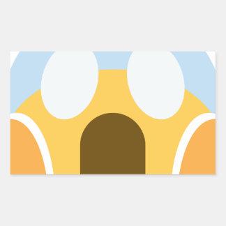 Sticker Rectangulaire OMG Maupassant Emoji