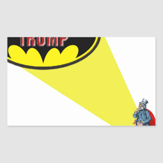 Sticker Rectangulaire Oncle Sam