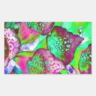 Sticker Rectangulaire rêve de couleur