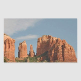 Sticker Rectangulaire Sedona