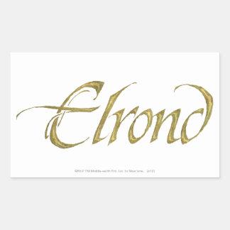 Sticker Rectangulaire Texturisé nommé d'ELROND™