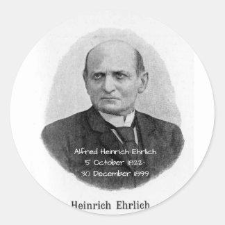 Sticker Rond Alfred Heinrich Ehrlich