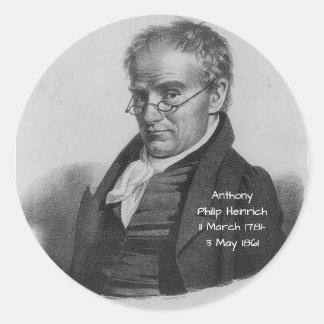 Sticker Rond Anthony Philip Heinrich