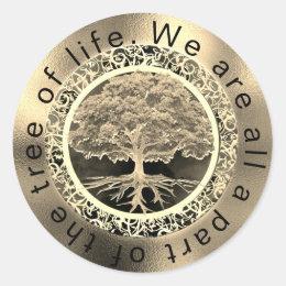 autocollants stickers arbre de la vie personnalis s. Black Bedroom Furniture Sets. Home Design Ideas