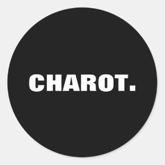 Sticker Rond Argot philippin Charot.