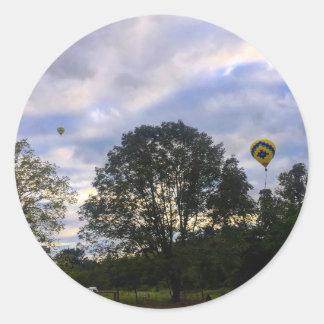 Sticker Rond Ballon à air