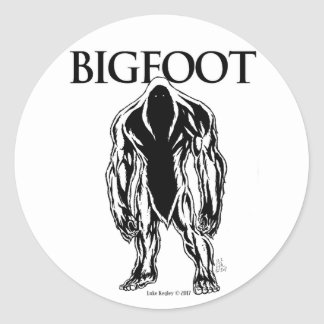 Sticker Rond Bigfoot