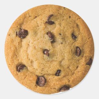 Sticker Rond Biscuit