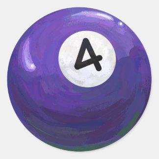 Sticker Rond Boule 4