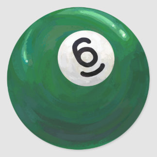Sticker Rond Boule 6