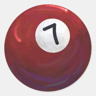 Sticker Rond Boule 7