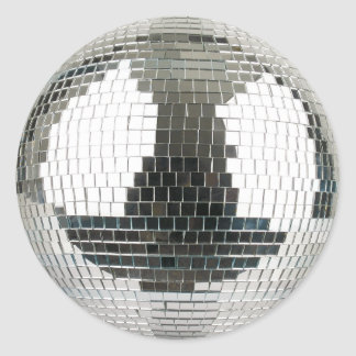 Sticker Rond Boule de disco de Mirrorball