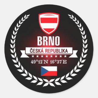 Sticker Rond Brno