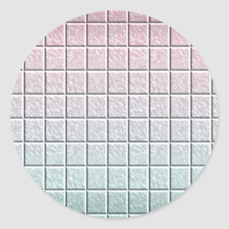Sticker Rond But multi Écrire-sur le métier de papier décoratif