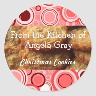 Sticker Rond Cadeaux de cuisson de cuisine de l'échange | de