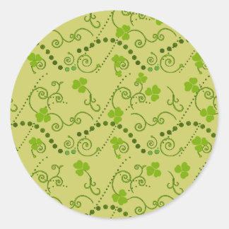 Sticker Rond Cadeaux irlandais
