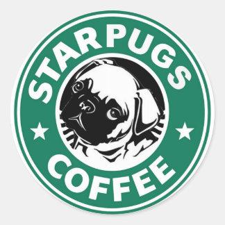 Sticker Rond Café de Starpug