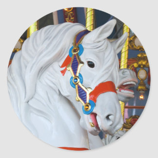 Sticker Rond Carousel Horse du Roi Arthur