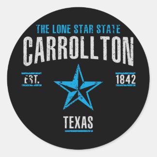 Sticker Rond Carroltlon