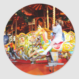 Sticker Rond Carrousel