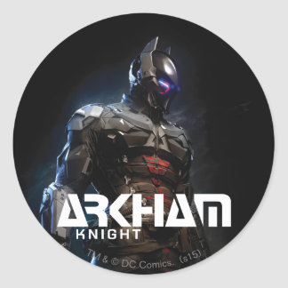 Sticker Rond Chevalier de Batman | Arkham