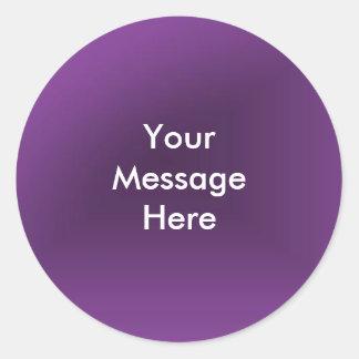 Sticker Rond Créez votre message