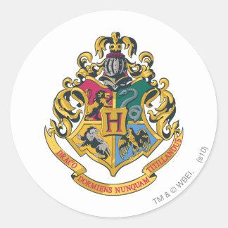 Sticker Rond Crête de Harry Potter | Hogwarts - polychrome