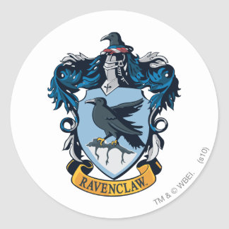 Sticker Rond Crête gothique de Harry Potter | Ravenclaw