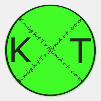 Sticker Rond Croisement de KnightTrain